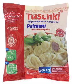 Dovgan Taschki Pelmeni mit Schweinefleisch  (500 g) - 4032549000605