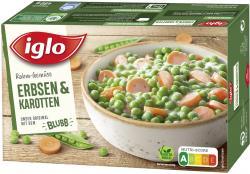 Iglo Rahm-Gemüse Erbsen & Karotten  (480 g) - 4250241201285