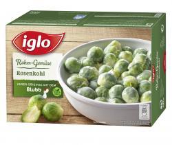 Iglo Rahm-Gemüse Rosenkohl  (500 g) - 4250241201247