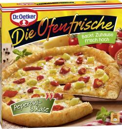 Dr. Oetker Die Ofenfrische Pizza Peperoni-3 Käse  (405 g) - 4001724002604