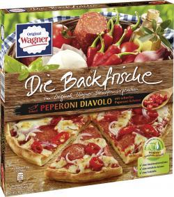Original Wagner Die Backfrische Peperoni Diavolo  (340 g) - 4009233006830