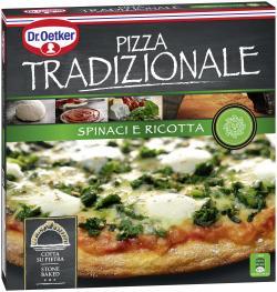 Dr. Oetker Pizza Tradizionale Spinaci e Ricotta  (365 g) - 4001724002857