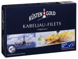 Küstengold Kabeljau-Filets  (250 g) - 4250426201765