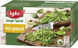 Iglo Junger Spinat fein gehackt  (800 g) - 4250241202855