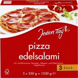 Jeden Tag Pizza Edelsalami  (3 x 350 g) - 4306180077082