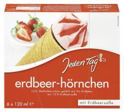 Jeden Tag Erdbeerhörnchen  (6 x 120 ml) - 4306188819981