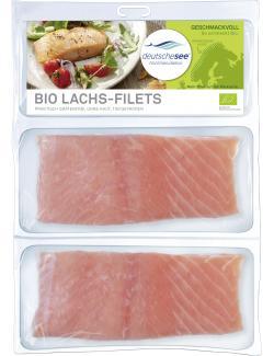 Deutsche See Feine Biolachs Filets  (2 x 150 g) - 4009239946017