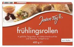 Jeden Tag Frühlingsrollen mit Huhn  (400 g) - 4306188820000