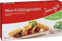Jeden Tag Mini-Frühlingsrollen mit  frischem Gemüse  (400 g) - 4306188821083