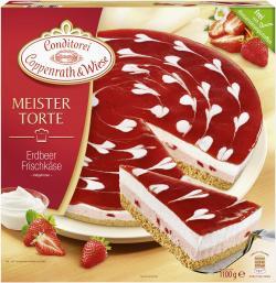 Coppenrath & Wiese Meistertorte Erdbeer-Frischkäse  (1,10 kg) - 4008577006674