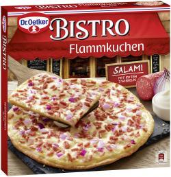 Dr. Oetker Bistro Flammkuchen Salami  (240 g) - 4001724010142