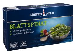 Küstengold Blattspinat  (450 g) - 4250426211849