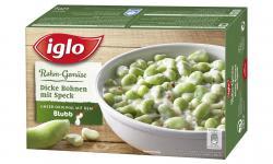 Iglo Rahm-Gemüse dicke Bohnen mit Speck  (420 g) - 4250241201292