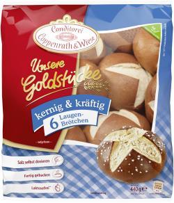 Coppenrath & Wiese Unsere Goldstücke Laugenbrötchen  (440 g) - 4008577006261