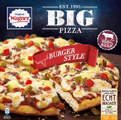 Original Wagner Big Pizza Burger Style  (430 g) - 7613034731753