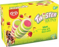Mini Twister Familienpackung Langnese Eis  (8 St.) - 8000920473696