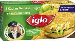 Iglo Käpt`ns Gemüse Burger  (250 g) - 4250241206112