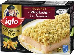 Iglo Gourmet Schlemmer-Filet Wildlachs à la Bordelaise  (330 g) - 4250241206242