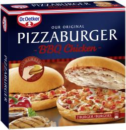 Dr. Oetker Pizzaburger BBQ Chicken  (360 g) - 4001724018704