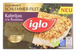 Iglo Gourmet Schlemmer-Filet Kabeljau à la Bordelaise  (330 g) - 4250241206600