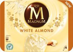 Magnum Mandel Weiss Eis  (4 St.) - 8712100818714