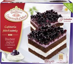Coppenrath & Wiese Cafeteria fein & sahnig Blaubeer Joghurt  (600 g) - 4008577020342
