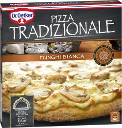 Dr. Oetker Pizza Tradizionale Funghi Bianca  (370 g) - 4001724019299