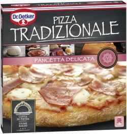 Dr. Oetker Pizza Tradizionale Pancetta Delicata  (400 g) - 4001724019411