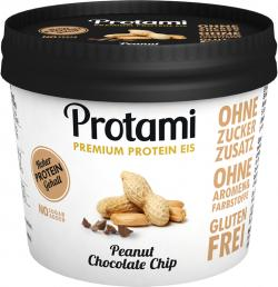 Protami Premium Protein Eis Peanut Chocolate Chip  (180 ml) - 4260443950164