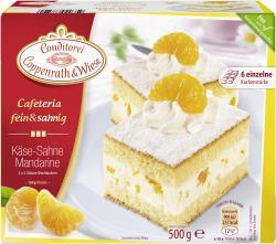 Coppenrath & Wiese Cafeteria fein & sahnig Käse-Sahne Mandarine  (500 g) - 4008577020359