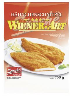 Sprehe Feinkost Hähnchenschnitzel Wiener Art  (750 g) - 4004860026503