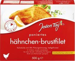 Jeden Tag Hähnchenbrust-Filet paniert  (500 g) - 4306188820147