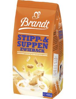 Brandt Stipp- & Suppen Zwieback  (400 g) - 4000233001801