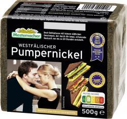 Mestemacher Echt westfälischer Pumpernickel  (500 g) - 4000446001018
