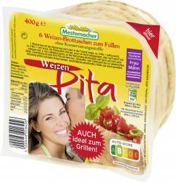 Mestemacher Pita Weizen  (400 g) - 4000446016456