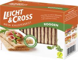 Leicht & Cross Mein Knusperbrot kräftiger Roggen  (125 g) - 4008404001018