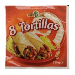 Poco Loco Tortillas  (320 g) - 5412514555559