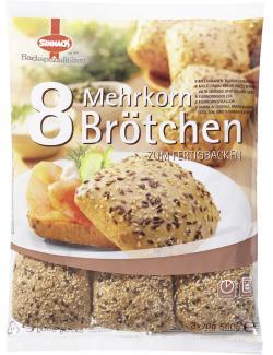 Sinnack Mehrkorn Brötchen  (560 g) - 4009097032075