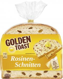 Golden Toast Rosinen-Schnitten  (400 g) - 4009249001058