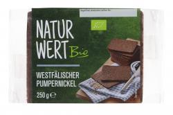 NaturWert Bio Westfälischer Pumpernickel  (250 g) - 4000446030681