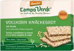 Demeter Campo Verde Sesam Knäckebrot Vollkorn  (250 g) - 4045178001660