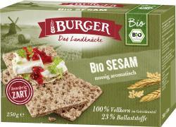 Burger Knäckebrot Bio Sesam  (250 g) - 4012970012613