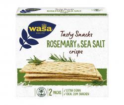 Wasa Delicate Crisp Rosemary & Sea Salt  (190 g) - 7300400126229