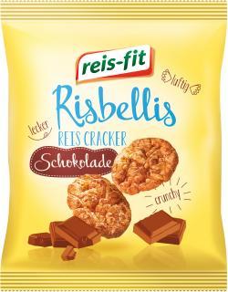 Reis-fit Risbellis Reiscracker Schokolade  (40 g) - 4006237091015