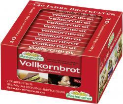 Mestemacher Vollkornbrot Roggen  (10 x 50 g) - 4000446013417