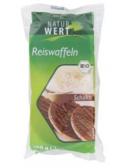Naturwert Bio Reiswaffeln Schoko  (100 g) - 4250780309299
