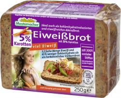 Mestemacher Eiweißbrot mit Karotten  (250 g) - 4000446011420