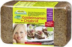 Mestemacher Bio Goldleinsamen + Chiabrot  (350 g) - 4000446011529