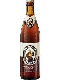 Franziskaner Weissbier dunkel  (500 ml) - 4072700001188