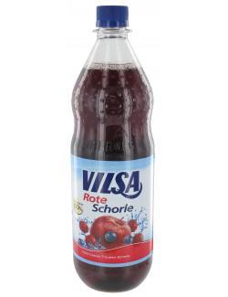 Vilsa Rote Schorle Apfel-Cassis-Traube  (1 l) - 4104450004703
